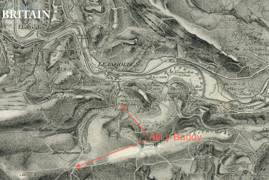 Image of Copy of OS 1:63360 1st Series OS Map of 1838 ( 1