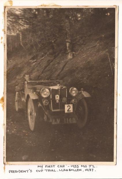 Photo - Eric Stevens First Car