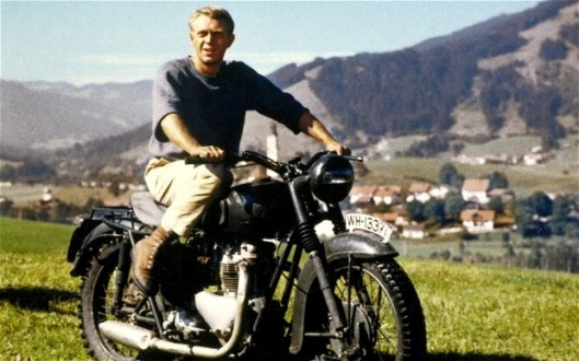 THE GREAT ESCAPE, Steve McQueen, 1963...Mandatory Credit: Photo by Courtesy Everett Collection / Rex Features