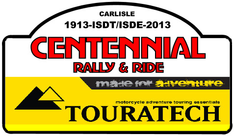 rally&ride sticker