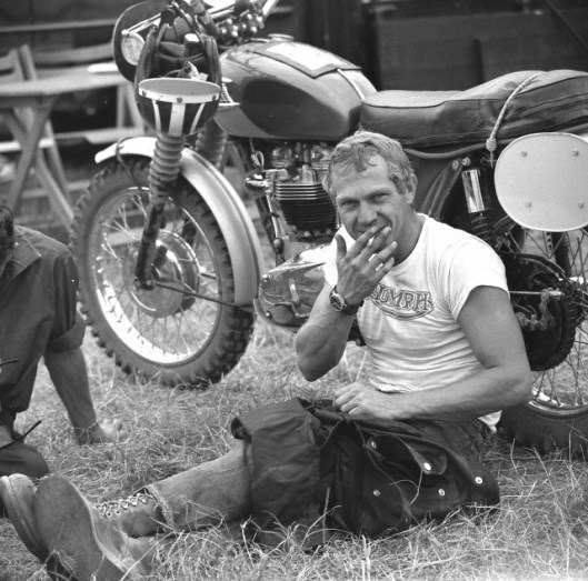 Photo - #278 Steve McQueen ISDT 1964 (Photo: Dieter Demme}