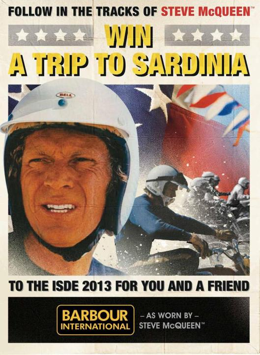 Barbour competition to visit the ISDE Sardinia 2013