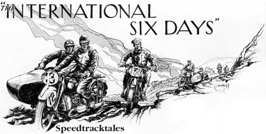 Illustration Motor Cycling 20 July 1938 )Speedtracktales Collection)