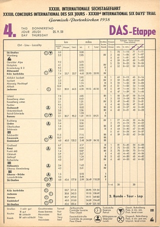 Image - Scanned Daily Control Sheet - Day 4 ISDT 1958 (Speedtracktales Archive)