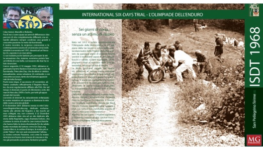 Image - rear cover of book ISDT1968