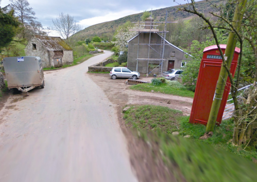 Photo -Capel y Fin on route Day 1 ISDT 1938 (Google Streetview)