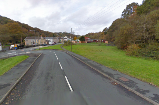Photo - Cwm Twrch checkpoint on route Day 1 ISDT 1938 (Google Streetview)