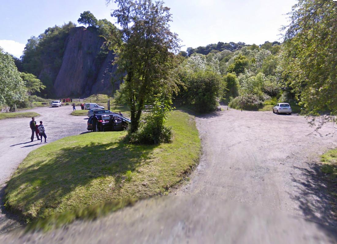 Dinas Rock Car Park