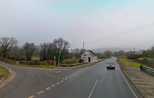 Photo - Halfway junction B4302 road to Talley on route Day 2 ISDT 1938 (Google Streetview)