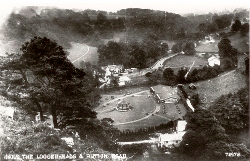 Photo - Tea Gardens, Loggerheads c1935