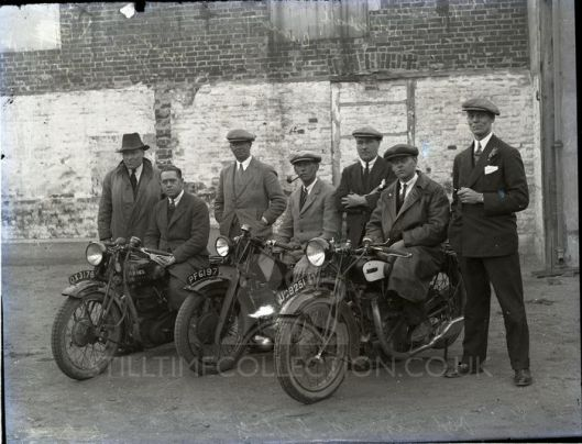 ? - tpt transport bike trial test matchless ariel and other