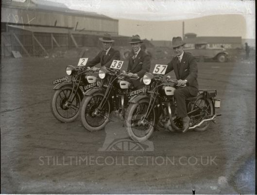 ? - tpt transport bike trial test matchless collier hall neill
