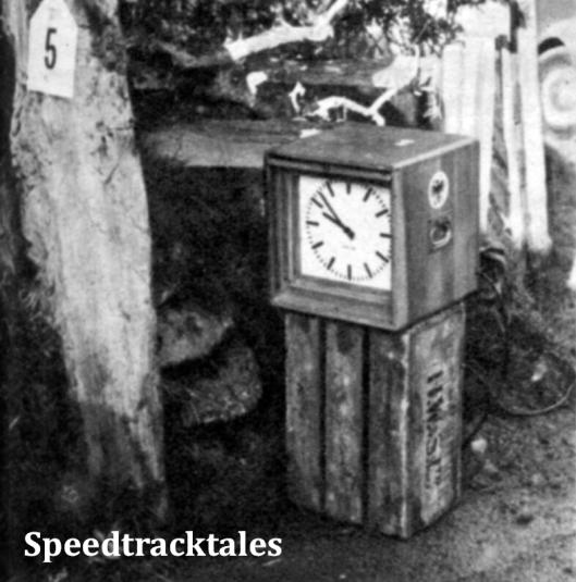 Photo - Der ADAC hatte, wie 1954, wider seine Uhren mitgebracht; noch besser wäre es gewesen, wenn man auch die Lichtschranken mit angefordert hätte (und das geeignete Material für die Kontrollkarten, denn das in England verwendete Papier war höchst ungeeignet). ISDT 1961 (Speedtracktales Archive)