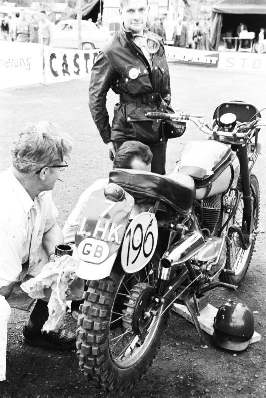 Photo - #196 Jan A Hillier Greeves 246cc ISDT 1960 © Erwin Jelinek/Technisches Museum Wien