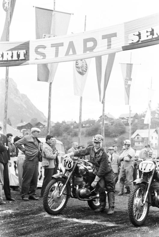 Photo - #178 E Crooks Jawa 248cc ISDT 1960 © Erwin Jelinek/Technisches Museum Wien