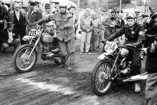 Photo - #214 Sammy Miller Greeves 250cc ISDT 1960 © Erwin Jelinek/Technisches Museum Wien