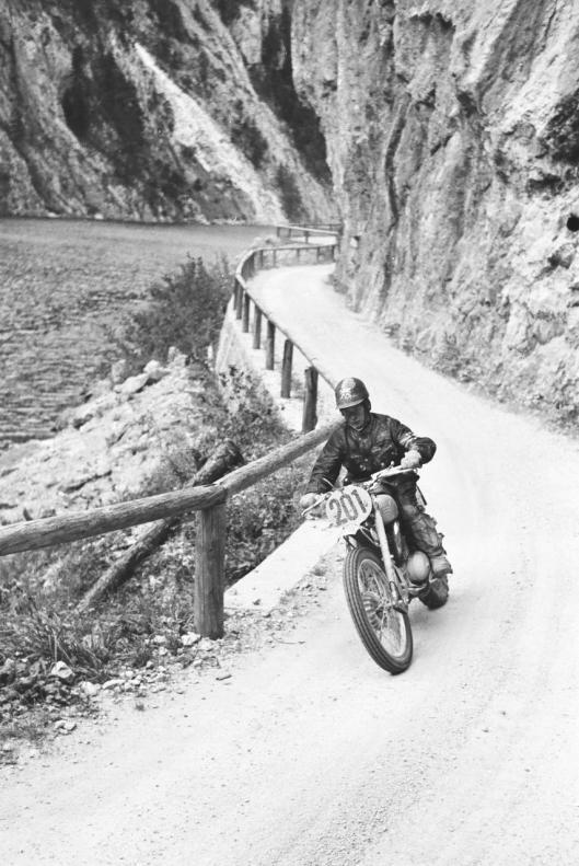 Photo - #200 Tristan Sharp Greeves 248cc ISDT 1960 © Erwin Jelinek/Technisches Museum Wien