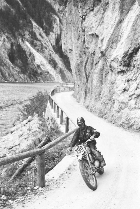 Photo - #199 Bryan Sharp Greeves 248cc ISDT 1960 © Erwin Jelinek/Technisches Museum Wien