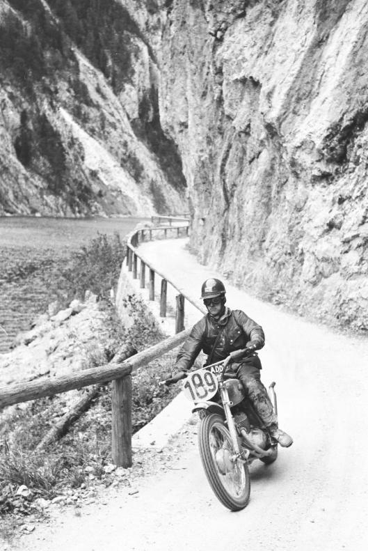 Photo - #189 TE Owens Cotton 248cc ISDT 1960 © Erwin Jelinek/Technisches Museum Wien