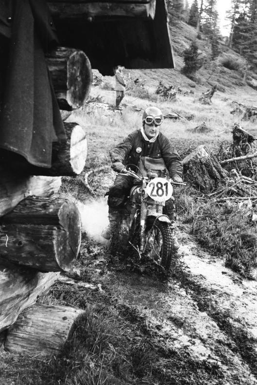 Photo - #281 Edward R Ward  Ariel 500cc ISDT 1960 © Erwin Jelinek/Technisches Museum Wien