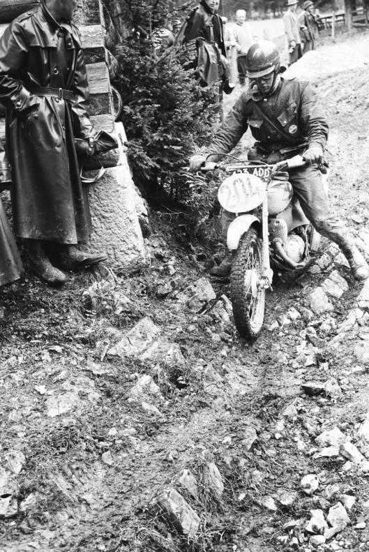 Photo - #204 R Barnes Cotton 249cc ISDT 1960 © Erwin Jelinek/Technisches Museum Wien