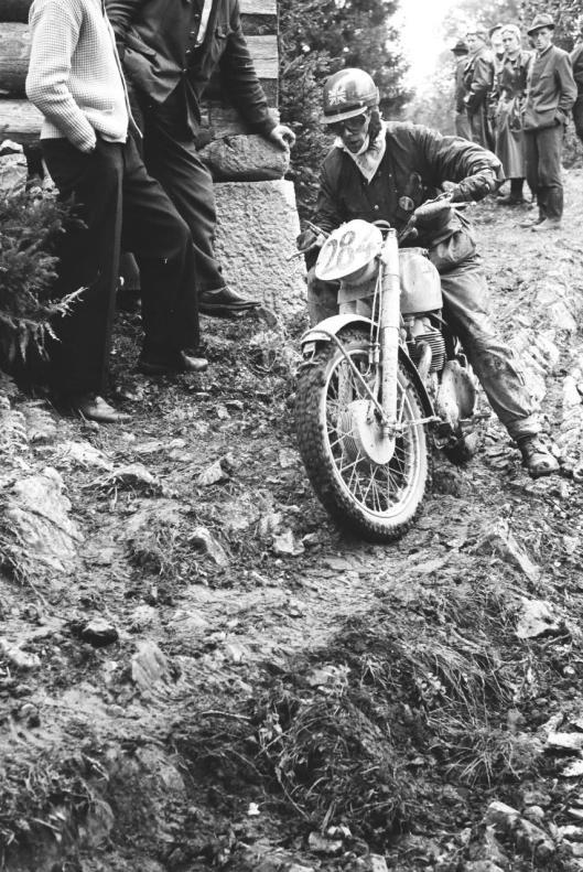 Photo - #284 JS Pigott  Matchless 592cc ISDT 1960 © Erwin Jelinek/Technisches Museum Wien