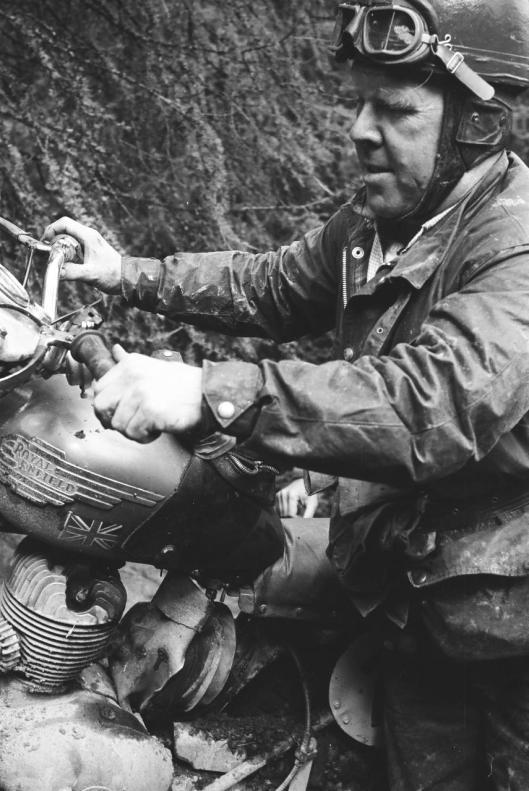 Photo - #184 F H Carey Royal Enfield 248cc ISDT 1960 © Erwin Jelinek/Technisches Museum Wien