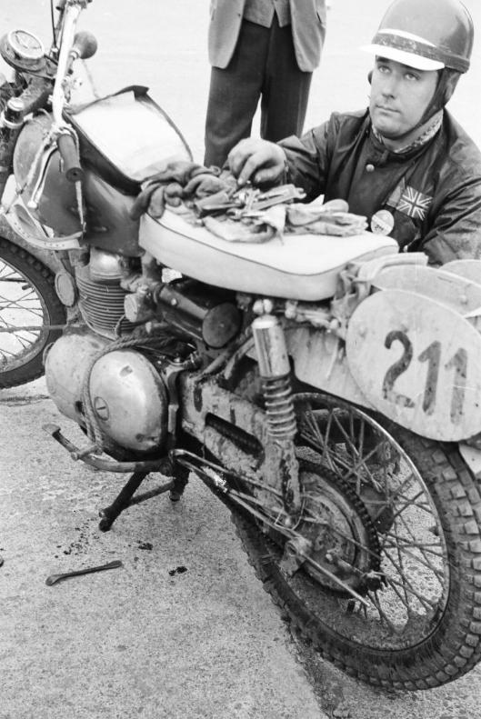 Photo - #211 A White Matchless 249cc ISDT 1960 © Erwin Jelinek/Technisches Museum Wien