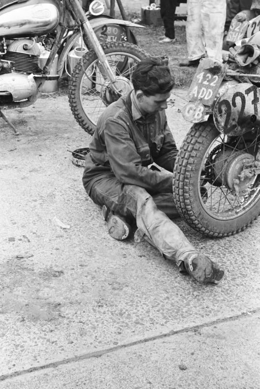 Photo - #227 GL Coppuck Cotton 249cc ISDT 1960 © Erwin Jelinek/Technisches Museum Wien