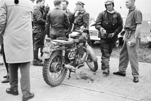 Photo - #273 Tim Gibbes Matchless 497cc ISDT 1960 © Erwin Jelinek/Technisches Museum Wien