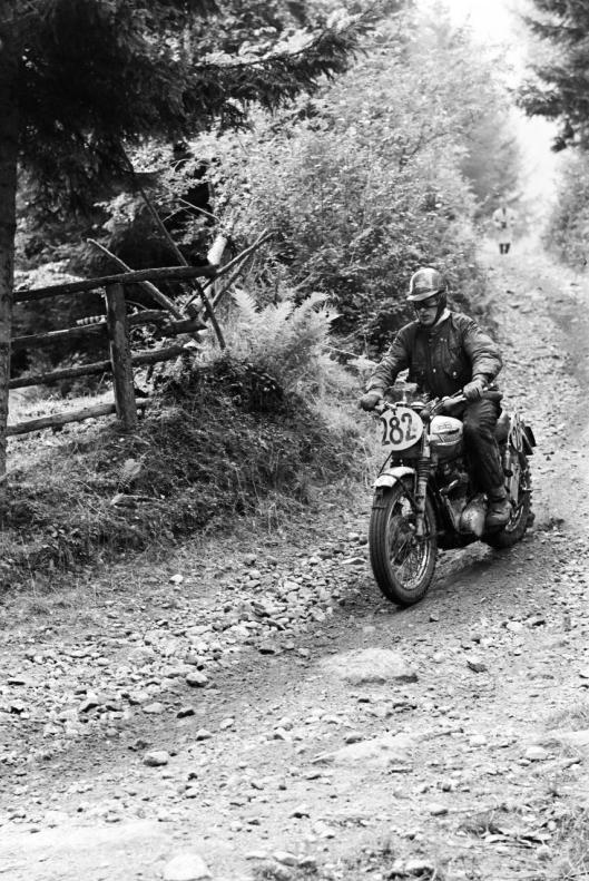 Photo - #282 Eric D Chilton  Triumph 648cc ISDT 1960 © Erwin Jelinek/Technisches Museum Wien