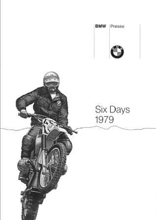 image - BMW ISDT World Enduro team press pack 1979