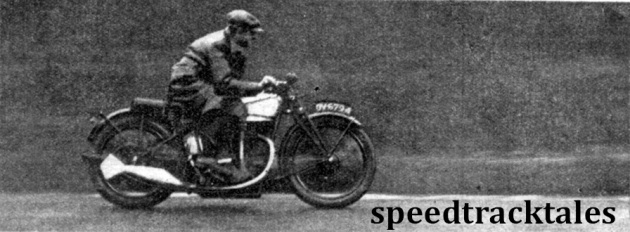 image - the 'International' Norton is an ideal machine for high speed touring. (speedtracktales archive)