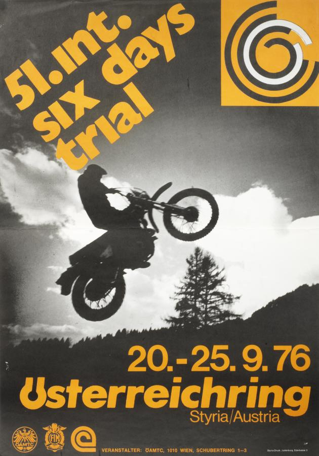 Photo - 51st International Six Days Trial Austria ISDT 1976