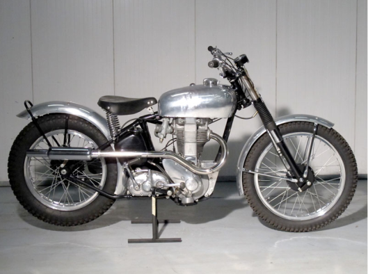 Photo - Ex Works BSA XB31 Trials Bike 1947