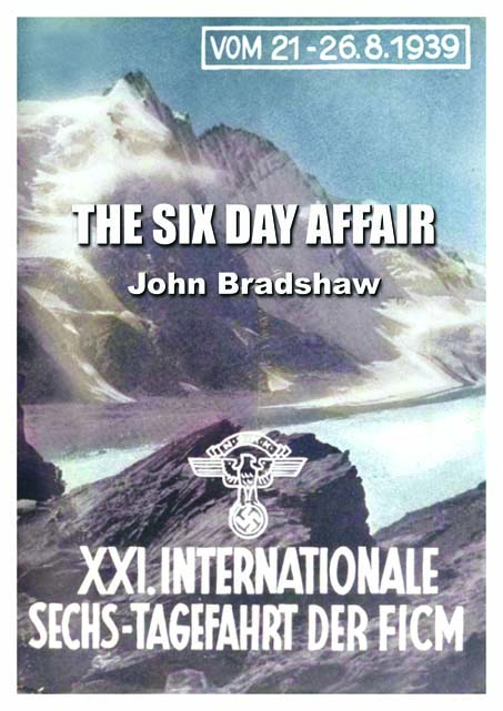 Image - Cover for new book 'The Six Day Affair' ISDT 1939