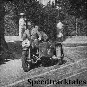 photo - #34 Harold Taylor (Ariel-4 sc) on the main road near Salzburg ISDT 1939 (Speedtracktales Archive)