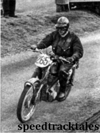 Photo - #265 Tim Gibbes (347 A.J.S) of the British Trophy team. ISDT 1961