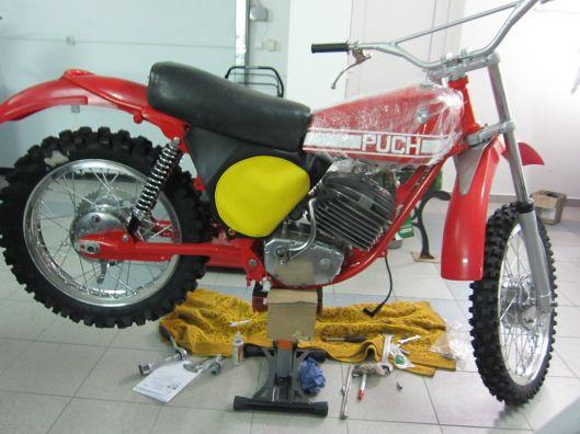 Photo - Johann Sommerauer's Works Puch MC 175 restored ex ISDT 1973