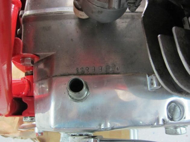 Photo - Johann Sommerauer's Works Puch MC 175 engine no. ex ISDT 1973