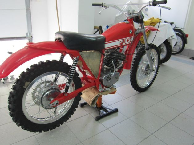 Photo - Johann Sommerauer's Works Puch MC 175 restored ex ISDT 1973
