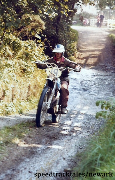 Photo - #18 is a 17 Year old Jack Penton of the famous American Enduro family at the start of his career ISDT 1971 (Newark Collection)