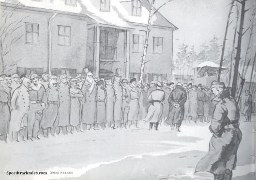 image - Xmas Parade - Brunswick (Original Art by Gordon Horner 1915-2006)