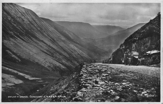 Postcard - Bwlch y Groes Pass (Courtesy roadsandpasses.wordpress.com)
