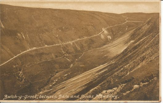 Postcard - Bwlch y Groes - 1936 (Frith Cards)
