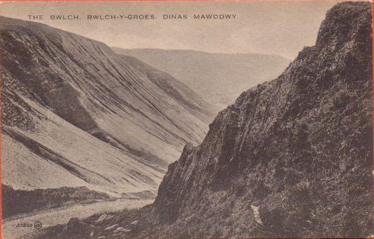 Postcard - Bwlch y Groes - undated