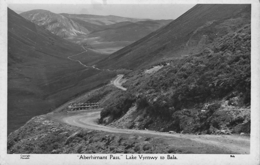 Postcard - Hirnant Pass (Courtesy roadsandpasses.wordpress.com)