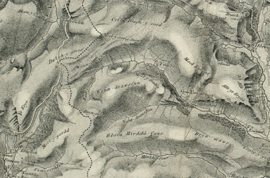 image - Map of Ordnance Survey - First Series 1