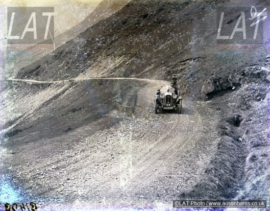 Photo - A view of the western climb of the Bwlch y Groes Welsh 24 Hr Rally 1929