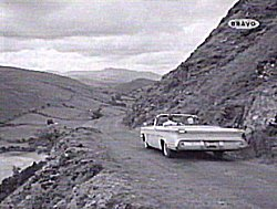 An episode of 'the Saint' tv show in the 1950's included a trip along the Bwlch y Groes expecting viewers to believe it was on location in Mexico.